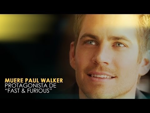 Fallece Paul Walker de «A todo gas»