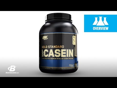 Optimum Gold Standard 100% Casein Science-Based Overview
