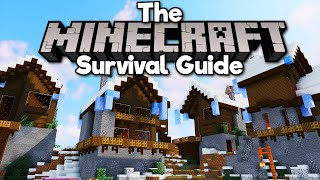 Transforming a Snow Plains Village! • The Minecraft Survival Guide (Tutorial Let's Play) [Part 299]