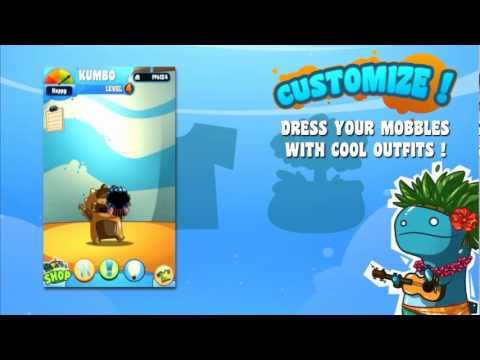 Video of Mobbles - the mobile monsters!