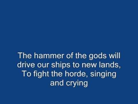 Led Zeppelin  Immigrant Song  Lyrics.
