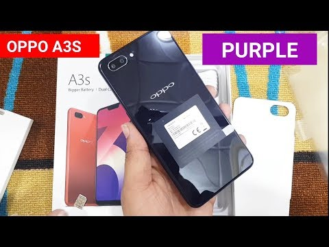 OPPO A3S PURPLE 2019 3GB 32GB / 2GB 16GB UNBOXING