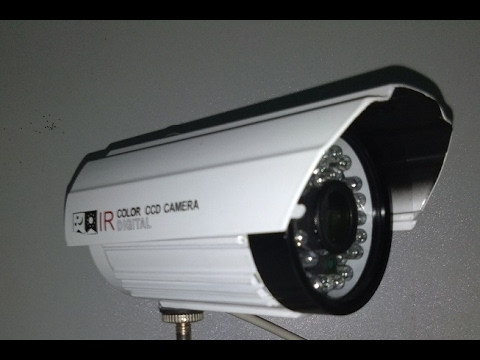 Camera Analog hồng ngoại độ nét cao 800TVL