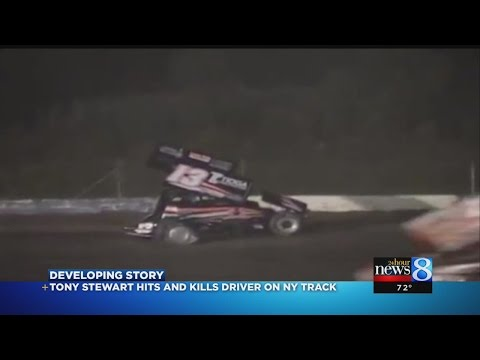 Tony - NASCAR driver Tony Stewart struck and killed a driver who was walking on a dirt track during a race in upstate New York.