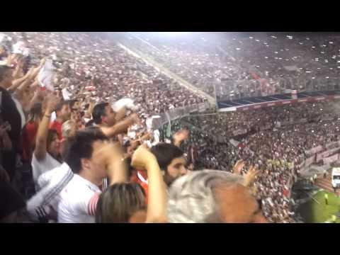 Video - River Plate 1 vs. boca jrs. 0 - Copa Sudamericana 2014 - Final del partido - Los Borrachos del Tablón - River Plate - Argentina