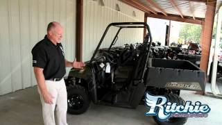 4. 2013 Polaris Ranger 400 Sage Green