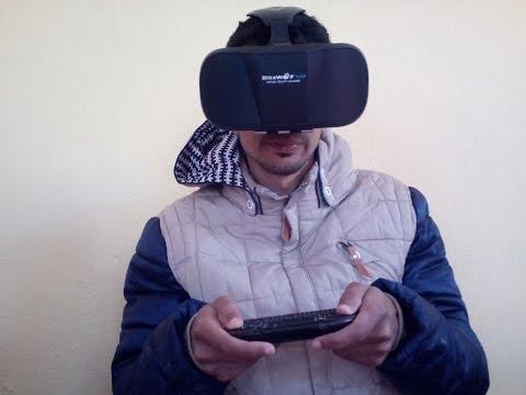نظارات العالم الافتراضي Review 3D VR Glasses Virtual Reality Headset