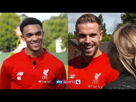 Why does Alexander-Arnold's mum boss Jordan Henderson around? 🤣