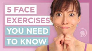 Video 5 Face Exercises You'll Wish You Had Known Sooner MP3, 3GP, MP4, WEBM, AVI, FLV Februari 2019