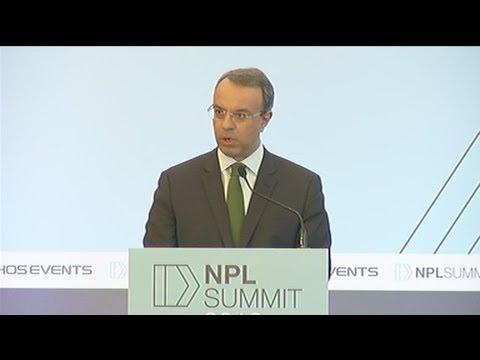 Χρ. Σταϊκούρας: Η μείωση των μη εξυπηρετούμενων δανείων θα είναι σημαντική