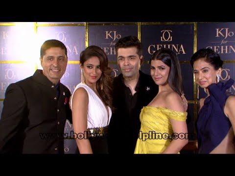 GEHNA Jewellers Unveiled The Signature Collection Kjo For GEHNA By Karan Johar