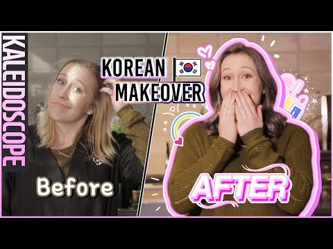 The ULTIMATE KOREAN MAKEOVER!!  Come With Us To My Hair Salon! 미즈뮤즈의 청담동 미용실 추천  meejmuse