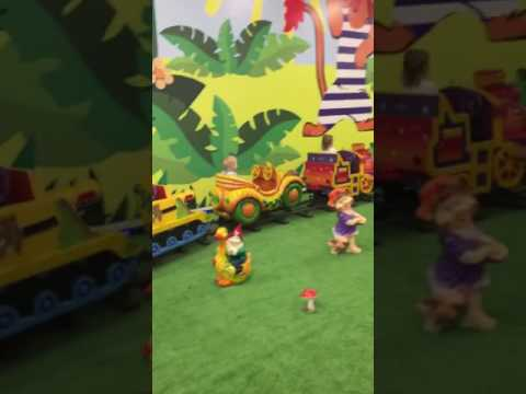 Игровая комната джунгли парк дети развлечения