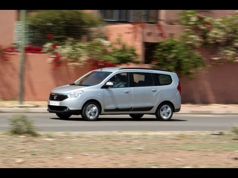Dacia Lodgy roadtest (English subtitled)