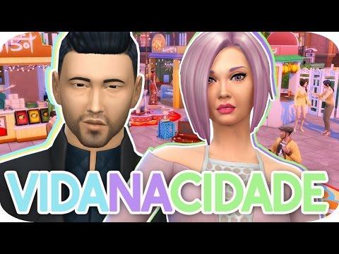 PRISCILA GRqVIDA! THE SIMS 4 VIDA NA CIDADE 2 TEMP EP04