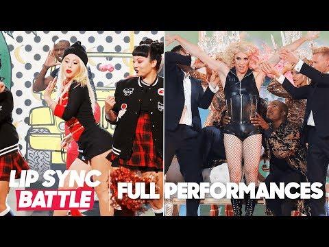"Tara Lipinski's ""Hollaback Girl"" vs. Johnny Weir's ""Paparazzi""   Lip Sync Battle"