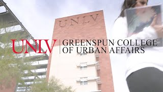 Support Students at the UNLV Greenspun College of Urban Affairs