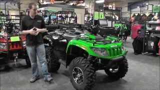 7. 2014 Arctic Cat ATV 1000 XT Green & Black