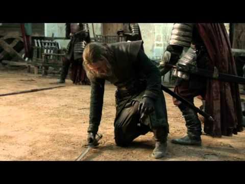 Eddard Stark vs Jaime Lannister: lucha con sables de luz