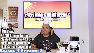 #CES2017, $9,000 Gaming Laptop, Razer Project Valerie, Panasonic Lumix GH5, Elgato Thunderbolt 3 Dock, Red Xbox One Controller, JBL E-Series Headphones, Mass Effect Andromeda & MORE in this week's new episode of FridaysWithFEL Season 4 Episode 2. Be sure to drop a like on the video and leave a comment below with your feedback and answers on today's show. (#FridaysWithFEL S4/Ep. 2) Items featured in this episode:-GH5 Camera https://goo.gl/2mUPvw-Elgato Thunderbolt 3 Dock https://goo.gl/nPQb89-JBL E-Series Headphones https://goo.gl/EuKL1T-JBL Pulse 3 https://goo.gl/r5XzWb-Razer Project Valerie Laptop https://goo.gl/fSV4Sa-Acer Predator 21X $9,000 Laptop https://goo.gl/mkLnJ2-Red Xbox One Controller https://goo.gl/fZHGNB-Mass Effect Andromeda https://goo.gl/cRXHa9-Nintendo Switch https://goo.gl/zJLa7yOUR PARTNERS:-Elgato Gaming HD, HD60, HD60 S, HD60 Pro http://e.lga.to/G4G-Trigger Devils Trigger Stops https://triggerdevil.com/ (use discount code TEAMFEL for 10% off)-GT Omega Racing PRO Office Gaming Chair https://goo.gl/MBB300 (use discount code TEAMFEL for 5% off)-Prestige Zone Gamer Crates, Grips, Stickers & Apparel https://goo.gl/079KXR (use discount code TEAMFEL for 10% off)►MY VLOG CHANNEL http://www.youtube.com/RyanVlogsToo► My Gear I Use??http://amzn.to/1SDS3Zu ►SOCIAL MEDIA:•Google+ http://bit.ly/FELonGooglePlus•Twitter http://twitter.com/FastElectLoud•Facebook http://bit.ly/FastElectronicLoudOnFacebook•Instagram http://www.instagram.com/fastelectronicloud•Twitch http://www.twitch.tv/fastelectronicandloud