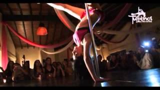 Nassahi Barakat De Joy Pole Dance Studio En Gala 1er Aniversario De Tutino's Pole&Sexy Dance