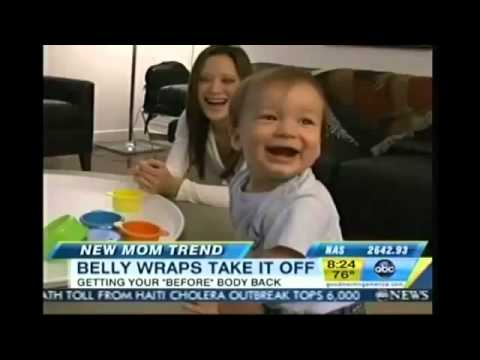 Good Morning America Features the Cinch Tummy Wrap for Postpartum Weight Loss