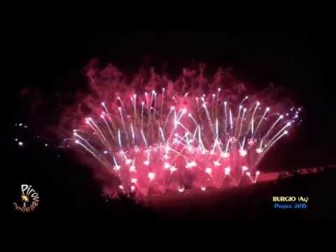 BURGIO (Ag) - Pasqua 2015 - LA ROSA Fireworks