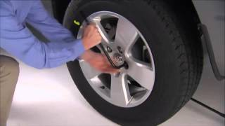 Learn proper use of your jack and tire-changing accessories.