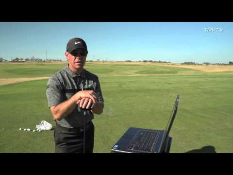 TrackMan lesson with Sean Foley