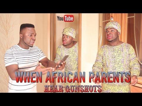 When African Parents Hear Gunshots