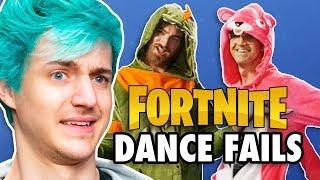 Video Fortnite Dance Challenge ft. Ninja MP3, 3GP, MP4, WEBM, AVI, FLV Maret 2019