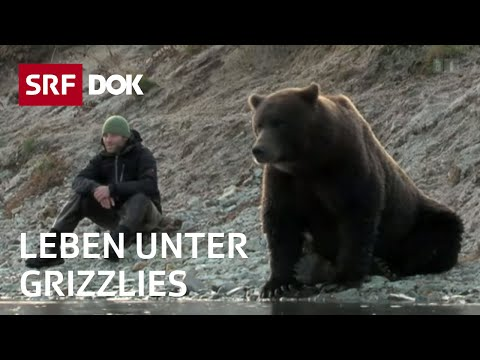 Kanada: Leben unter Grizzlies: David Bittner in Alaska