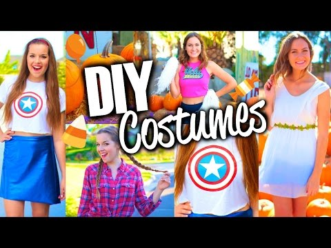 Costumes - Here are some easy and cute DIY Halloween costumes for teens! Which of the last minute DIY Halloween costume ideas was your favorite? LET'S GET THIS TO 5000 LIKES! Have an awesome ...