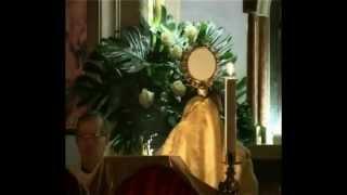 Castel del Piano Italy  city photo : CantoGesu: Adorazione Eucaristica - Eucharistic adoration (Castel Del Piano, Italy, Perugia)