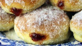Video Pączki - Polish Jelly Donuts - Oven Baked Doughnuts MP3, 3GP, MP4, WEBM, AVI, FLV Juli 2019