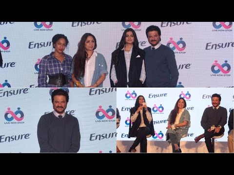 UNCUT : Anil Kapoor & Rhea Kapoor At Launch Of Ensure Dreams Survey 2017