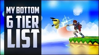 Armada's bottom top 6 – Tier list!