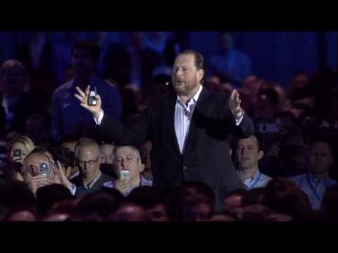 dreamforce - Salesforce.com Chairman and CEO Marc Benioff leads the Dreamforce 2013 Opening Keynote, title