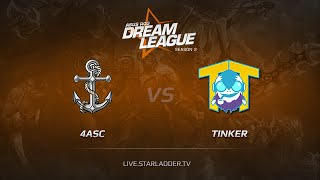 TTinker vs 4Anchors, game 1
