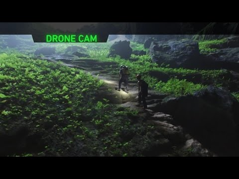 Drones Take You Inside Hidden World Live