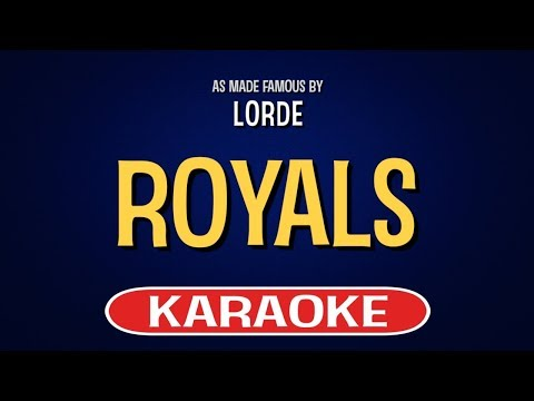 Royals (Karaoke Version) - Lorde | TracksPlanet
