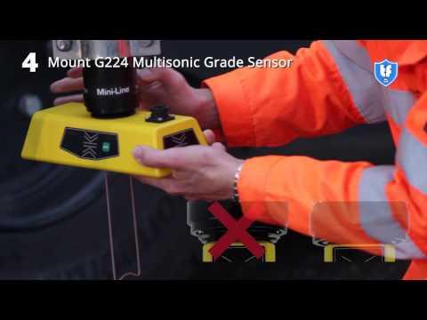 Установка Mini-Line® G224  - работа по струне