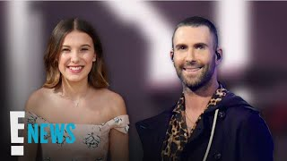 Millie Bobby Brown Raps Onstage at Maroon 5 Concert | E! News