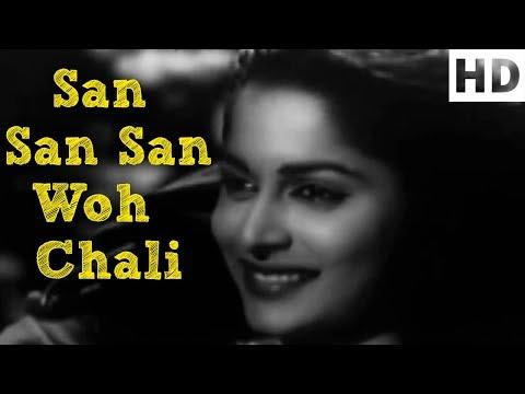 San San San Woh Chali Hawa - Kaagaz Ke Phool Song - Asha Bhosle, Mohammed Rafi - Classic Songs (HD)
