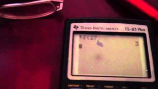 How to find the cubed root on a TI 83/84 calculator