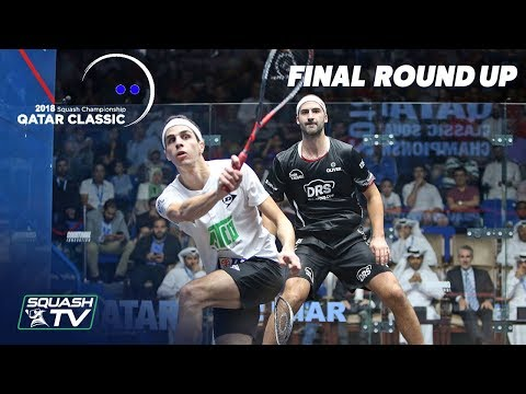 Squash: Farag v Rösner - Final Roundup - Qatar Classic 2018