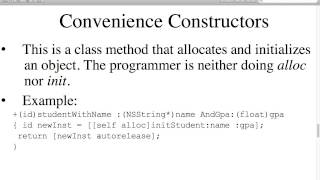 Fall 13-2 Objective-C - Lecture 6