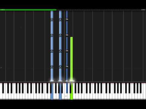 видео игры на фортепиано - The A Team