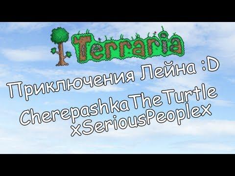 Приключения Лейна в Terraria