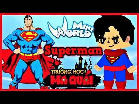 TRƯỜNG HỌC MA QUÁI: -tập 14- 1 ngày làm Superman | Sự trả thù của đại ca côn đồ | Phong Cận Tv - Thời lượng: 11 phút.